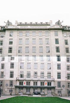 Número Tres: Vienna http://modus--vivendi.com/ #post #35mm #otto #vienna #building #photography #architecture #wagner #collage