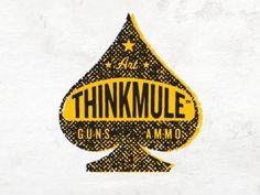 All sizes | THINKMULE™ Spade Logo | Flickr - Photo Sharing! #type #thinkmule #logo