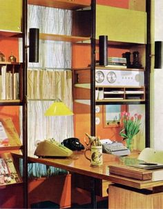 WANKEN - The Blog of Shelby White » The Interiors of Mid-Century Modern #interior #modern #design #vintage #telephone #midcentury