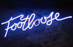 Image #sign #footloose #vintage #neon