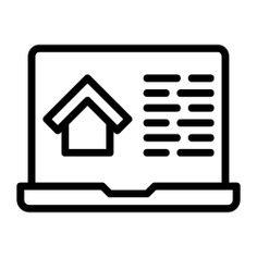 See more icon inspiration related to laptop, real estate, electronic, computing, technology and computer on Flaticon.