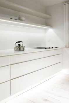 Kitchen. Copenhagen Penthouse I by Norm.Architects. #kitchen #normarchitects #minimalism