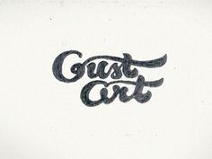 Dribbble - Gust Art 1 by Igor_Eezo #type #sketching #lettering #pencil