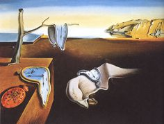 The Persistence of Memory by Salvador Dali (1931) #dali #painting #salvador