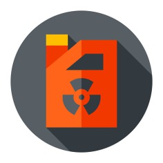 See more icon inspiration related to ecology and environment, radiactive, pollution, contamination, sewage, barrel, signaling, electronics, radiation, nuclear, chemical, waste, industry and radioactive on Flaticon.