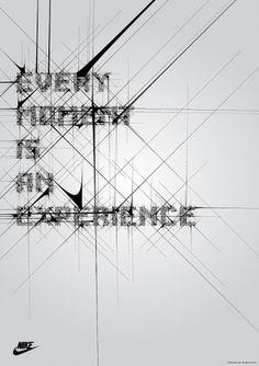 Nike Typography Posters | simoncpage.com