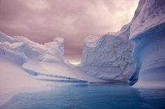 Tumblr #icebergs #winter
