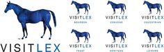 Visit LEX #horses #branding #application #lex #awesome