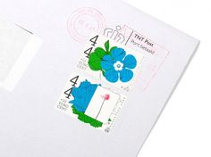 Rejane Dal Bello #stamp #design #graphic