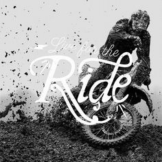 Live for the Ride #lettering #vintage #typography