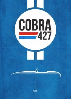 Iconic Racing Series | Fubiz™ #print #retro #cars #vintage #poster #logo