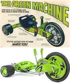 OhGizmo! » Archive » The Green Machine Is Back, And Better Than Ever