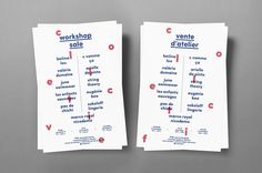 Workshop Sale #print #design #flyer #workshop #poster #collective #sale #layout
