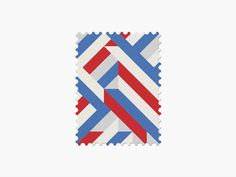 Russia #stamp #graphic #maan #geometric #illustration #minimal #2014 #worldcup #brazil