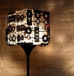 CJWHO ™ (The Most Hipsterest Lamp Ever! by OOO My Design) #design #light #hipster #lamp #cassette