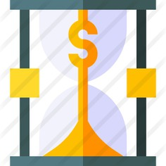 See more icon inspiration related to time and date, business and finance, Tools and utensils, dollar symbol, watch, hourglass, money, tool, time and clock on Flaticon.