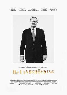 Daniel Carlsten H:r Landshövding #poster #typography