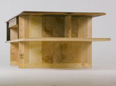Coffee Table Argosy Fly Massive Millworks #table #furniture #interior #wood #modernism #russian #walnut #maple