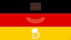 German Flag and their famous items by Frederatic