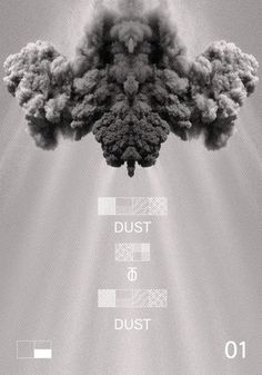 Dust Visual - sixpaxk.fr #sixpack #generative #pattern #symbols #dust #poster