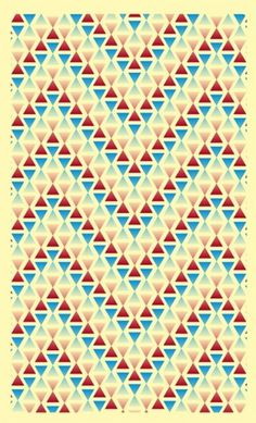Pattern #design #color #triangle #fashion #patterns