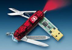Swiss Knife w/ Flash drive #flash #drive