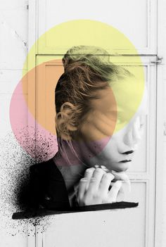S O O T H S A Y E R - Rosco Flevo #woman #design #shapes #artscumantics #muse #paint #postartfuckery #art #fashion #media #collage #spray #love