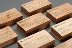 HEYDAYS  Woodhouse Business Cards