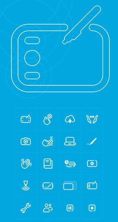 Wacom_Graphics_Icons #line #pictogram #icon #wacom #sign #picto #symbol