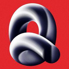 #q #36daysoftype04 #36daysoftype #36days_q #typelove #dailytype #handmadefont #goodtype #designinspiration #typeverything #moire