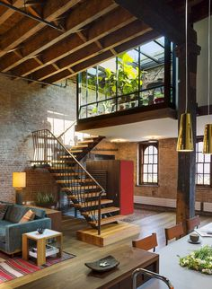 Tribeca Loft by Andrew Franz Architect PLLC #interior #design #ideas