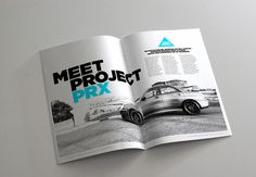 Project PRX Magazine on Behance #swiss #magazine #gotham #design #clean #photography #layout #brochure