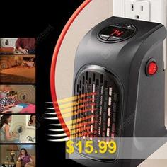 Portable #Mini #Electric #Handy #Air #Heater #- #BLACK