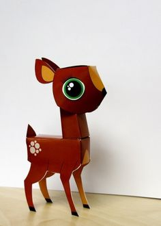 paper deer | Flickr – Compartilhamento de fotos! #paperdeer