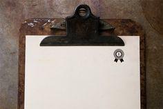 PTARMAK | design | austin, u.s.a. #stamp #clipboard #rust
