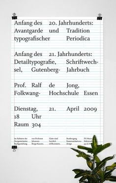 I LIKE BIRDS: Designinitiative Ralf de Jong #german #mainz #poster