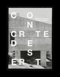 #book #cover #type #brutalism #architecture