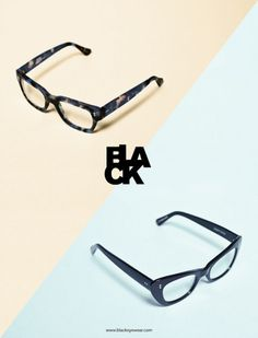 Bibliothèque #print #design #eyewear #black