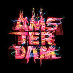 Digital Art inspiration #type #illustration #art #digital