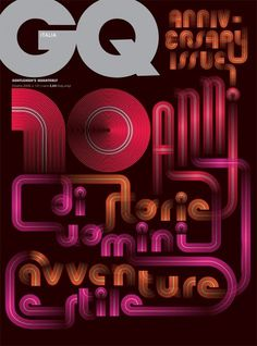 Mucca | Work | GQ #cover #type