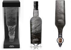 Goslings Black Seal Rum - Student Project #bottle #rum #design #packaging #bermuda #caribbean #package design #alcohol