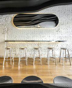 Fumi by Alberto Caiola - #decor, #interior, #restaurant,