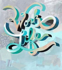 Darren Booth Hand-lettering & Illustration #illustration #lettering #painting