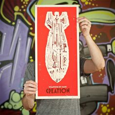 Weapons of Mass Creation - Angryblue | Go Media #illustration #poster