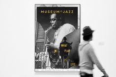 MoJ — Museum of Jazz - valentine sanders #jazz #branding