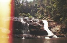 All sizes | Panther Falls, GA | Flickr - Photo Sharing! #film #photo #photography #swim #waterfall