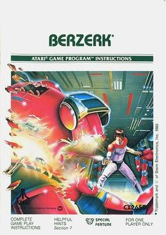 Atari - Berzerk | Flickr - Photo Sharing! #games #video #illustration #manual #booklet
