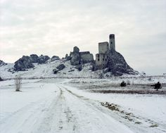 Tumblr #white #cold #overcast #photography #gray #castle #winter