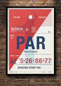 grain edit · Flight Tag Prints #type