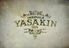 Yasakin by bmd design on Behance #yasakin #behance #design #bmd